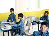 The school caters to the children living in the township & provides excellent education.