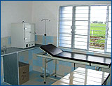 The well equipped clinic has a radiology, pathology and dental facilities.